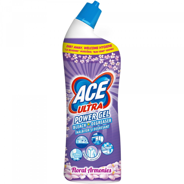 Ace Power Gel Floral 750ml 0