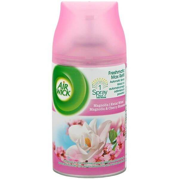 AirWick Rezerva Odorizant Freshmatic Magnolie si Flori de Cires, 250ml 0