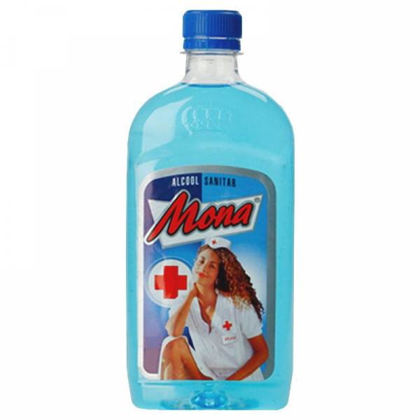 Alcool Sanitar Mona 70% 200ml 0