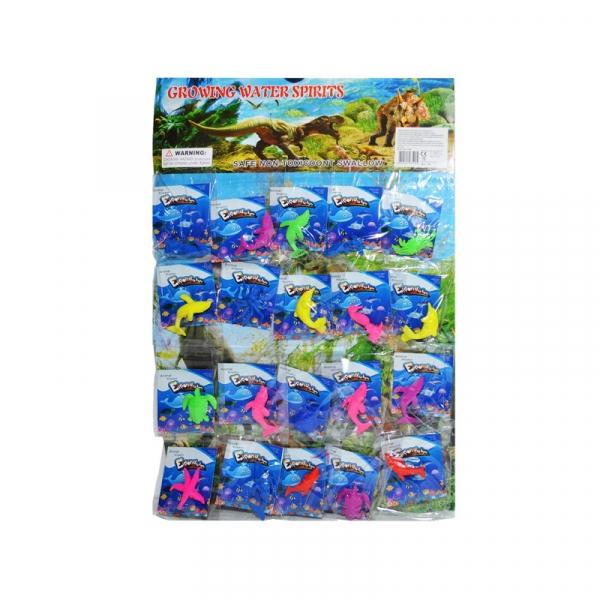 Animale marine, cresc de 6x, 20 buc/blister 0