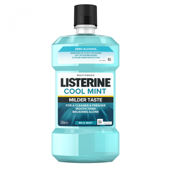 Listerine Apa De Gura Zero Cool Mint 500ml 0
