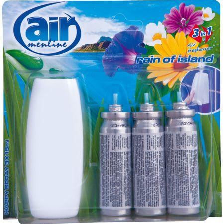Aparat Menline Happy Spray Rain 3x15ml 0