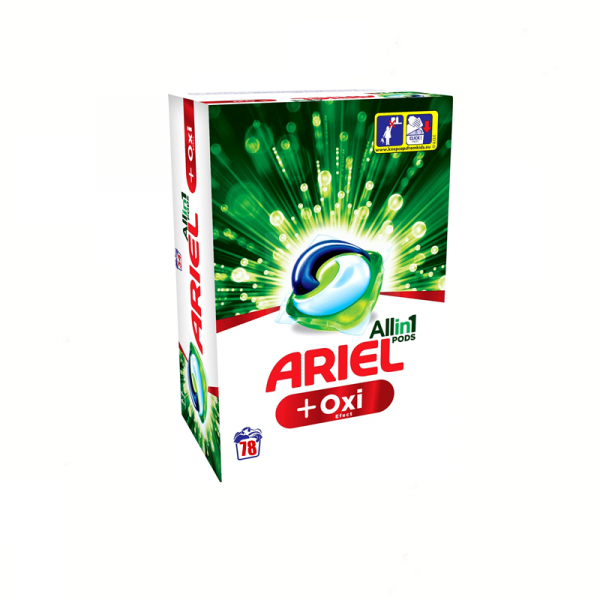 Ariel All In One Pods Plus Oxi Effect 78 Spalari 0