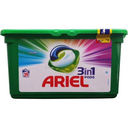 Ariel Color 3 In 1 Capsule 39 bucati 0