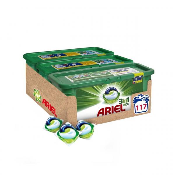 Ariel Regular 3 In 1 Pods, 3 X 39 Spalari 0