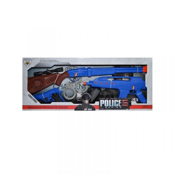 Arme cu accesorii si baterii, 6 piese/set 0