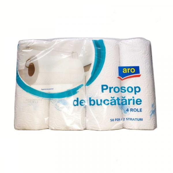 Aro Prosoape De Bucatarie, 4 Role, 2 Str 0