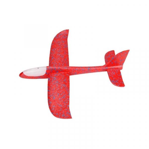 Avion din polistiren, 47 cm, cu led 0