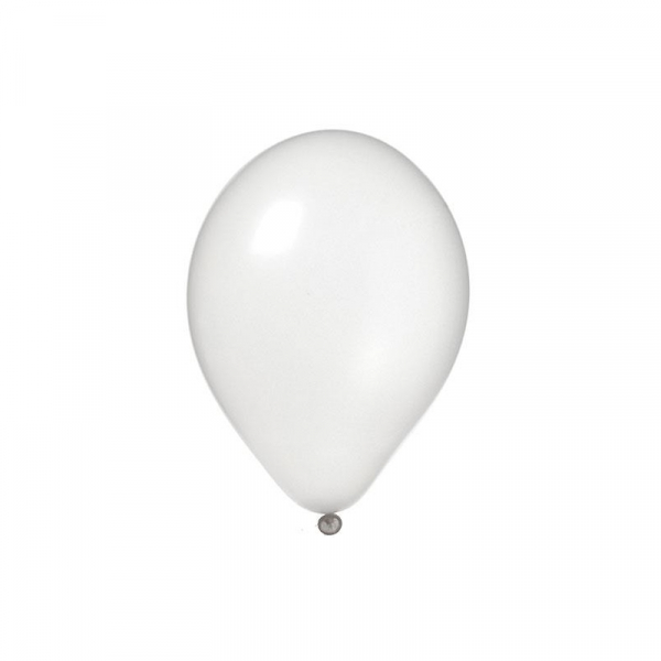Baloane 2,8 g, albe, 100 buc/set 0