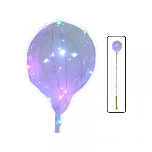 Balon cu suport si instalatie cu baterii 0