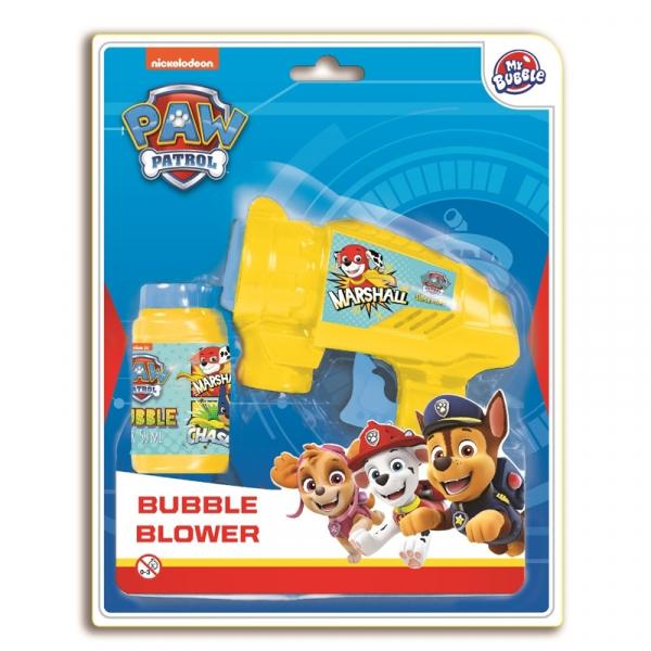 Balonase de sapun, pistol, 60 ml/blister, Paw Patrol - STARPAK 0