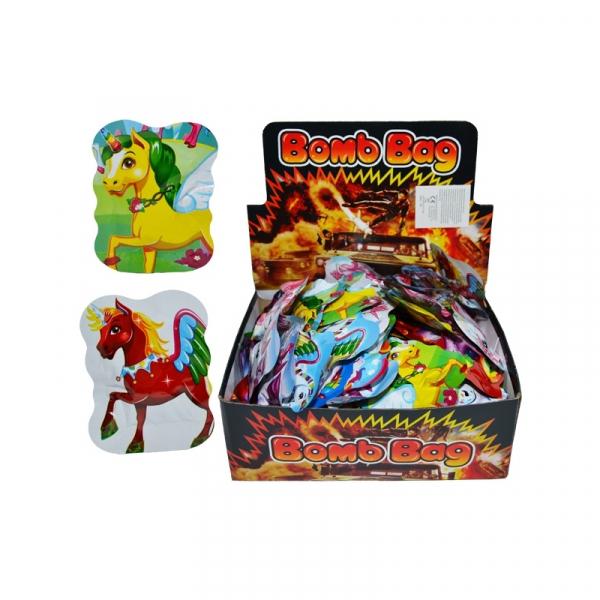 Bomba pentru farse cu parfum, Unicorn, 150 plicuri/set 0