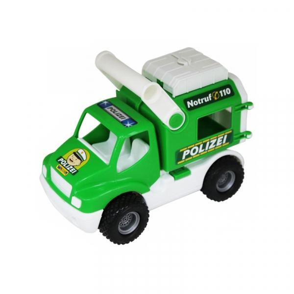 Camion politie-prim ajutor, 24x14x18 cm, Wader 0
