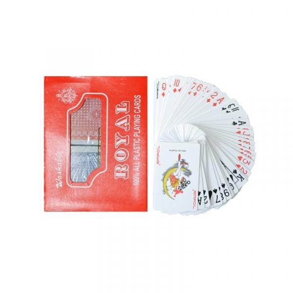 Carti de joc, din plastic, Royal - 2 set/cutie 0
