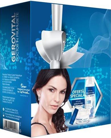 Caseta cadou: Crema intensiv hidratanta + Deodorant 0