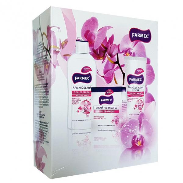 Caseta cadou Farmec Orhidee 41920 0