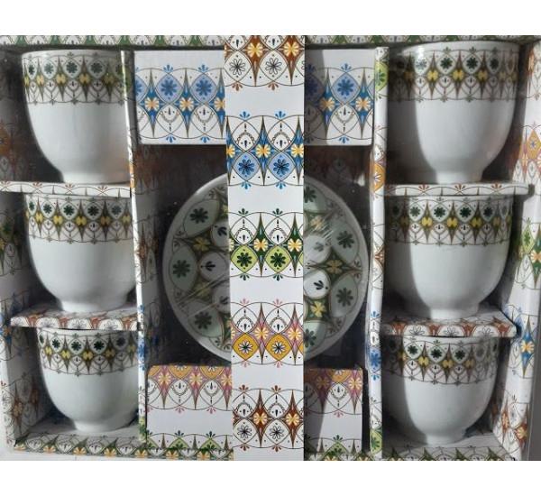 Set Cesti Cafea Cu Farfurie 6/set [0]