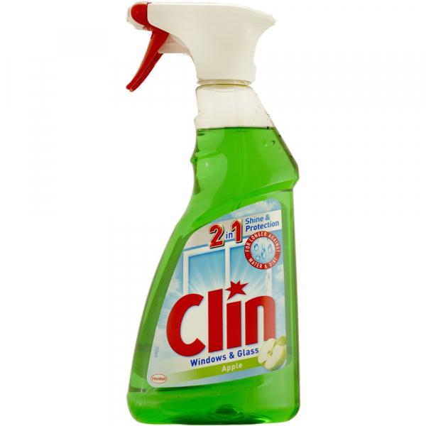Clin Apple detergent pentru geam cu pistol, 500ml [0]