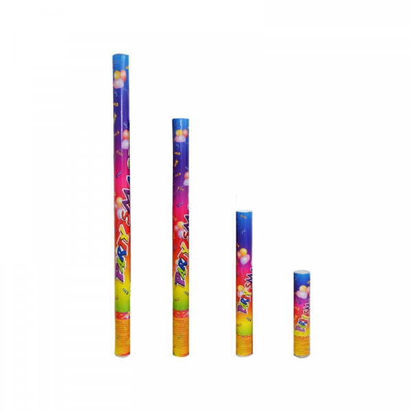 Confetti color, tub cu presiune, 50 cm 0