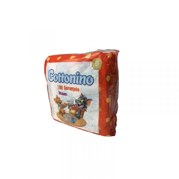 Cottonino Servetele Umede Tom&Jerry 100 Bucati 0