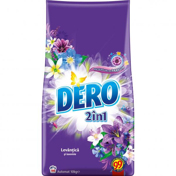 Dero Detergent Pudra Automat 2 In 1 Levantica 10kg 0