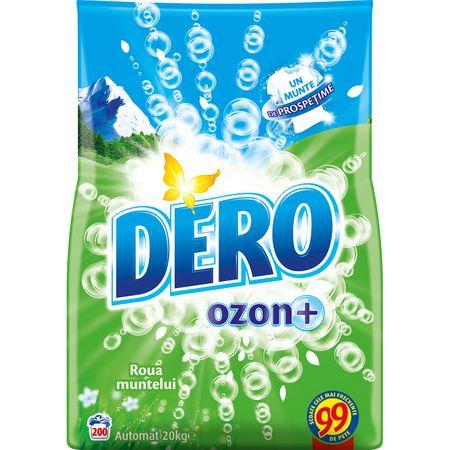 Dero Detergent Pudra Automat Ozon+ 20kg 0