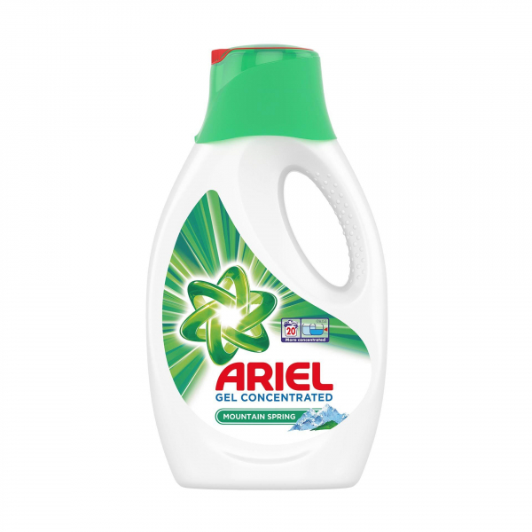 Detergent automat lichid Ariel Mountain Spring, 20 spalari, 1,1l 0
