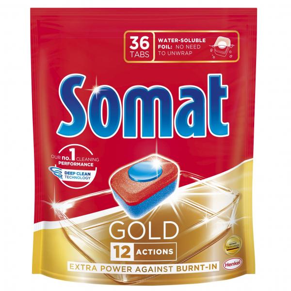 Detergent De Vase Somat Gold 36 Tablete [0]