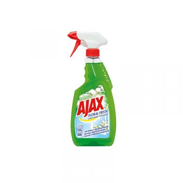 Detergent pentru geam Ajax cu pulverizator Floral Fiesta, 500ml [0]