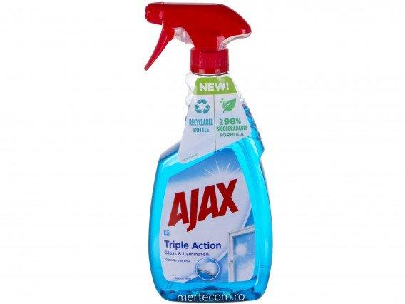 Detergent Pentru Geam Ajax Cu Pulverizator Multi Action, 500ml 0