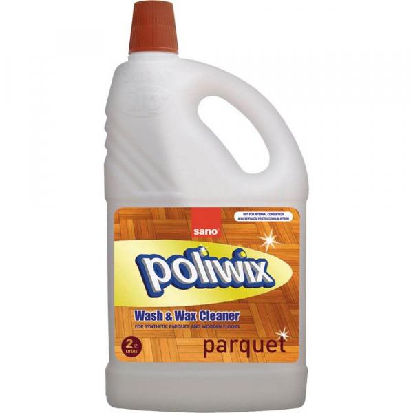 Detergent pentru parchet Sano Poliwix Parquette, 2l 0