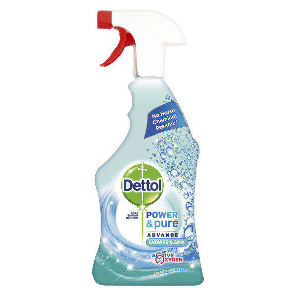 Dettol Spray Shower Sink 750ml 0