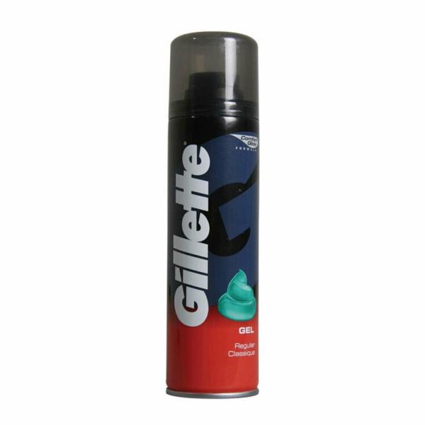 Gilette Gel Ras Regular 200ml 0