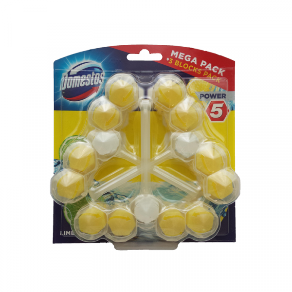 Domestos Power 3x55g Lime [0]