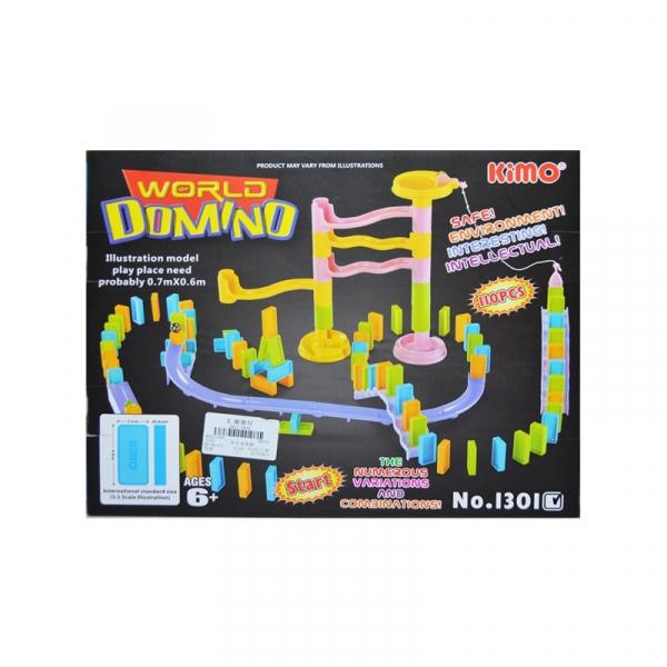 Domino plastic 110 piese 0