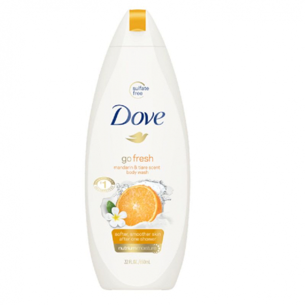 Dove Gel De Dus Mandarina 500ml 0