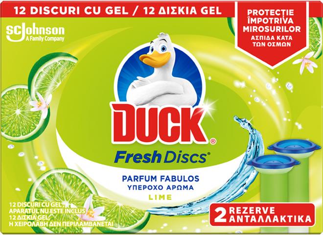 Duck Odorizant WC Lime 2x36ml [0]