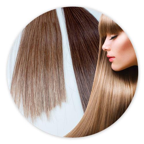 Extensii De Par Drept Blond Inchis Mamzelle Ô 0