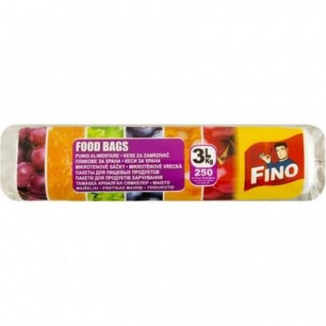 Fino Pungi Alimentare 3L, 250 Bucati/Rola [0]
