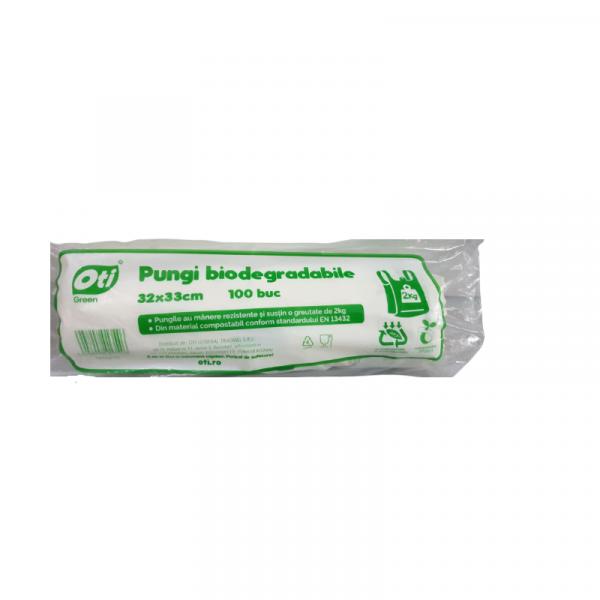Oti Sacose Bio 2kg, 31x33cm, 100 Bucati/Set 0