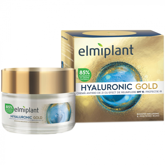 Elmiplant Crema Antirid  cu Acid Hialuronic , SPF 10, 50ml [0]