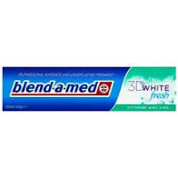 Pasta De Dinti Blend-A-Med 3d Fresh White Menta 100ml 0