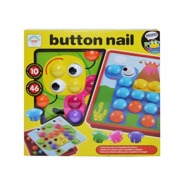 Joc creativitate-mozaic, Button nail 0