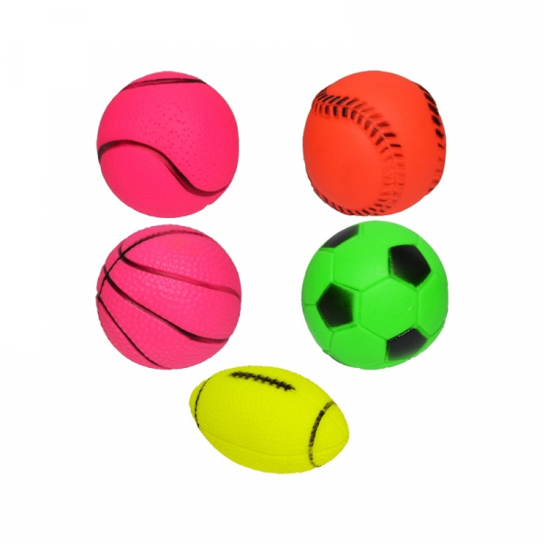 Jucarie chitaitoare - 5 mingi/set 0