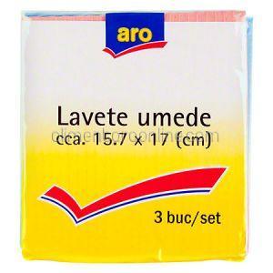Aro Set 3 Lavete Umede 15.7x17cm 0
