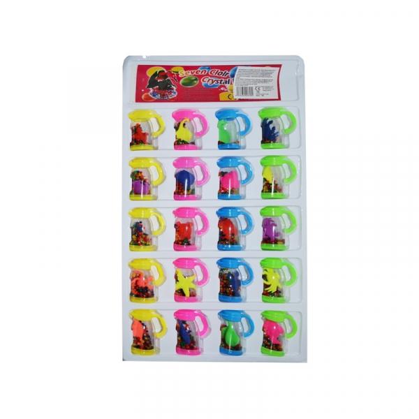 Margele cu animale care cresc in cutie - Set 20/blister 2