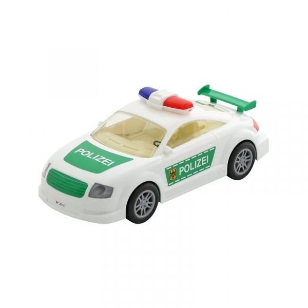 Masina politie, cu frictiune, 26x11x10cm, Polesie 0