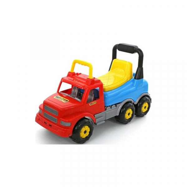 Masinuta fara pedale-Camion - MaxiTruck, 69x28x41 cm, Wader 0