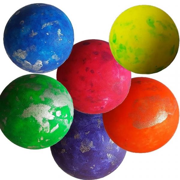 Minge Springball Sprenkel, 70mm, Juwa 0