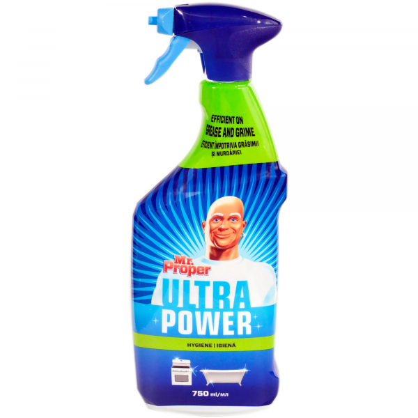 Mr. Proper Spray Hygiene 750ml 0